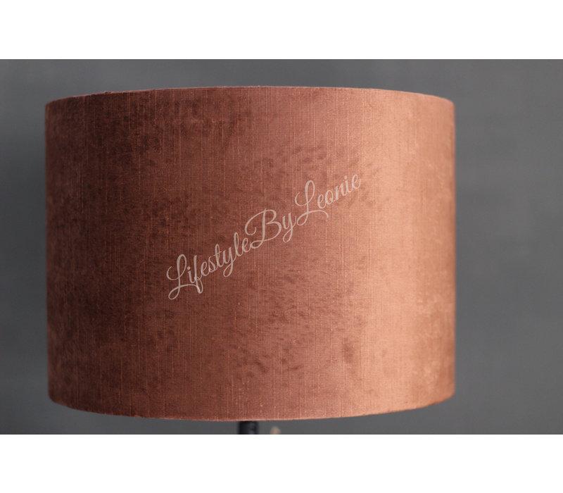 Cilinder lampenkap Stone terra 30 cm
