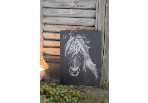 LifestyleByLeonie Deco bordje Paard