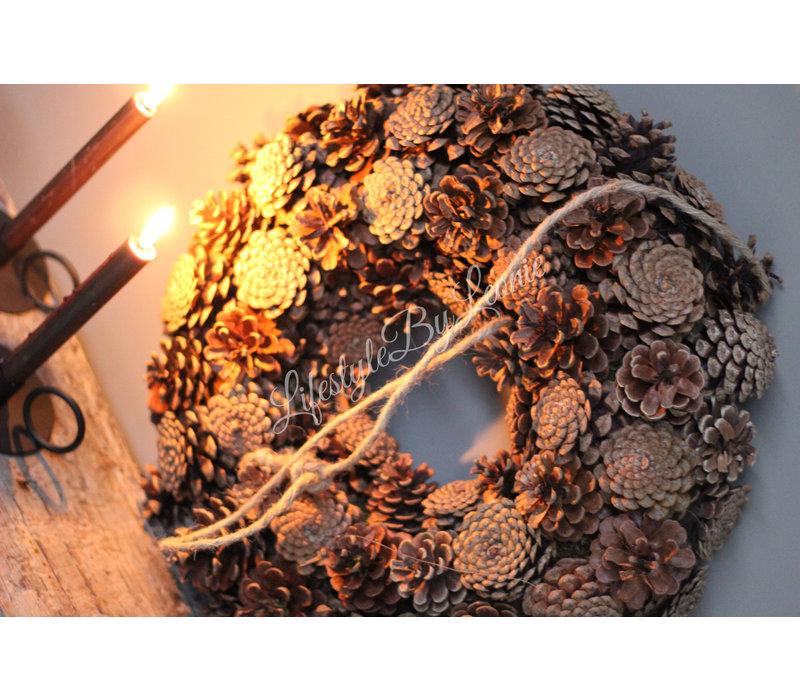 Krans Pine cone 50 cm