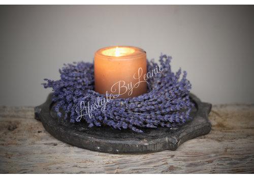 LifestyleByLeonie Zuid-Franse lavendel krans 20 cm
