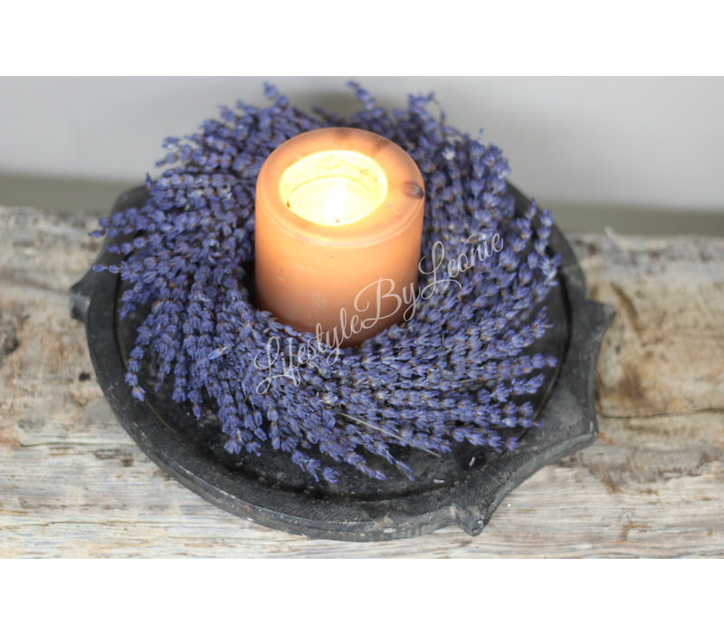 Zuid-Franse lavendel krans 20 cm