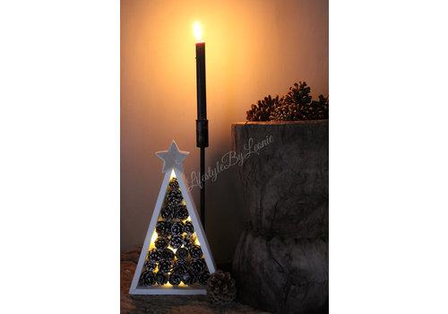 LifestyleByLeonie Dennenappel LED boom Beth 30 cm
