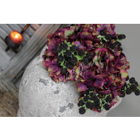 Zijden Mulberry bramen tak 38 cm