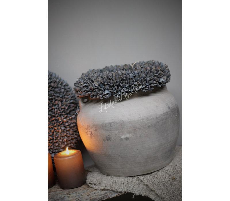 Krans Bakuli dark grey 30 cm