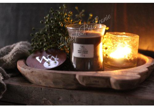LifestyleByLeonie WoodWick Amber & incense medium