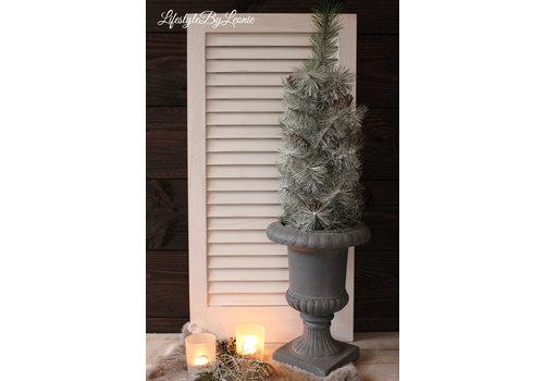 LifestyleByLeonie Kerstboom met sneeuw en dennenappels 65 cm