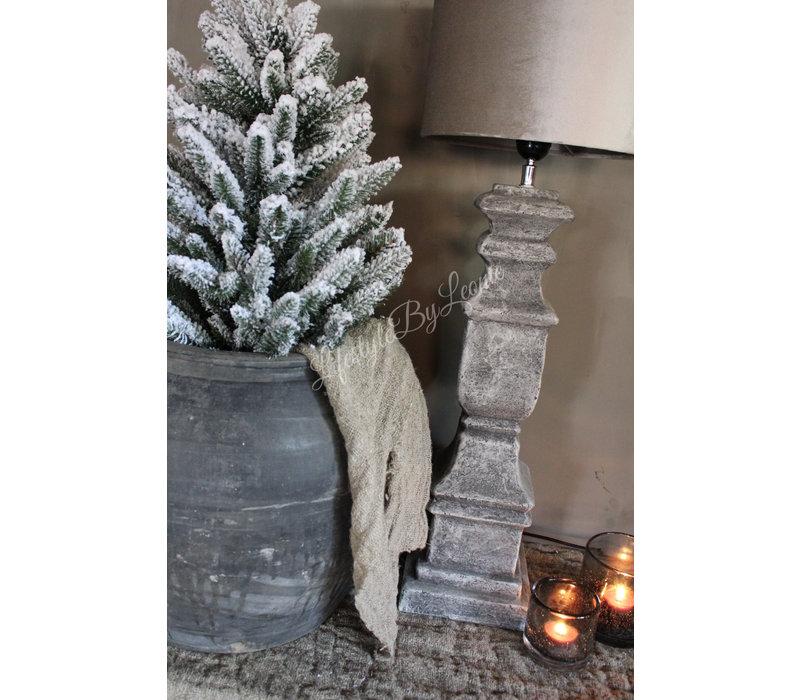 Pinetree kerstboom Snow white 60 cm