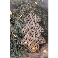 Rattan hanger kerstboom Tree