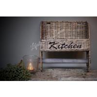 Rattan keukenrolhouder Kitchen