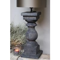 Baluster lampvoet Antraciet - maat L
