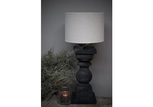 LifestyleByLeonie Baluster lampvoet Antraciet - maat M