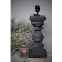 Baluster lampvoet Antraciet 45 cm