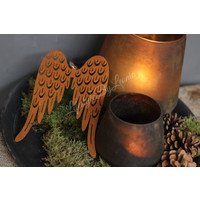 Roestige vleugels Wings 19 cm