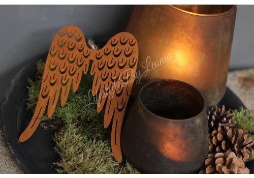 LifestyleByLeonie Roestige vleugels Wings 19 cm