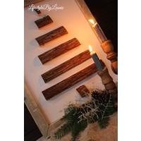 Houten wand ornament Tree naturel