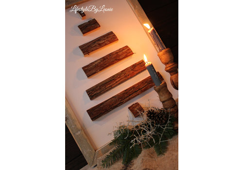 LifestyleByLeonie Houten wand ornament Tree naturel