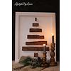 LifestyleByLeonie Houten wand ornament Tree white