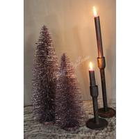 Glitter kerstboom Mauve 40 cm