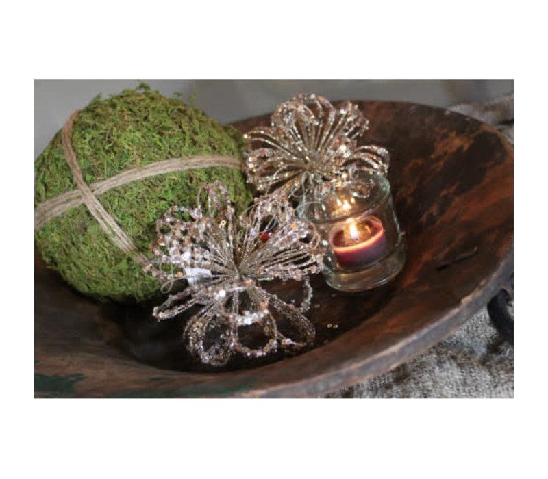 Christmas ornament Glitter Champagne