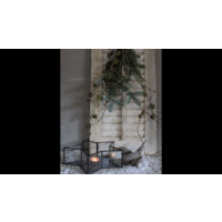 Glazen waxinelichthouder Star 27 cm