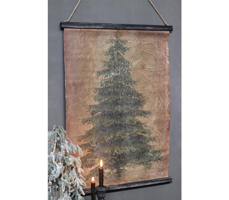 Wanddoek Tree 88 cm