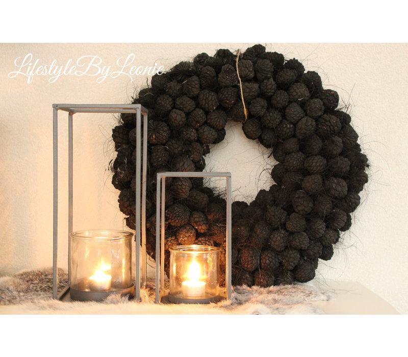 Krans Atafruit Black 45 cm