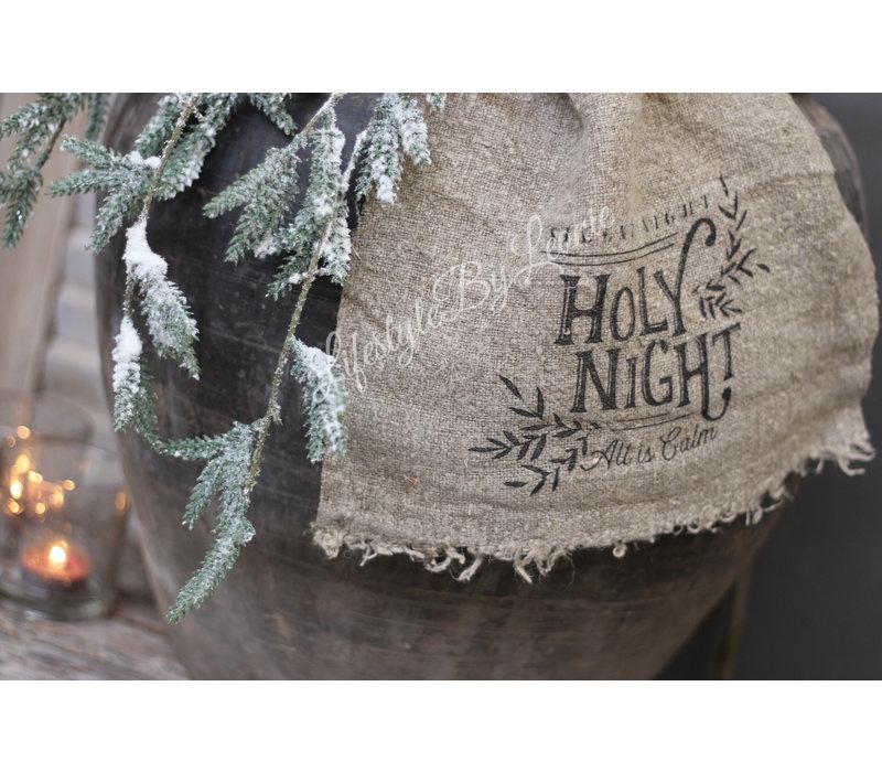 Shabby linnen doek Holy night