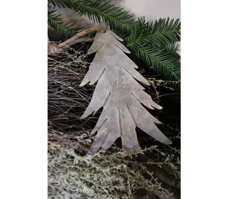 Zinken hanger Tree groot