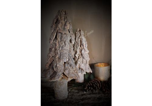 LifestyleByLeonie Sobere boom Bark wood 40 cm