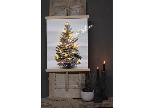 LifestyleByLeonie Wanddoek LED Tree 57 cm
