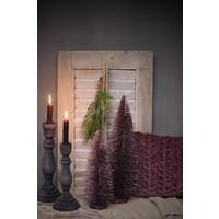 Glitter kerstboom Mauve 30 cm