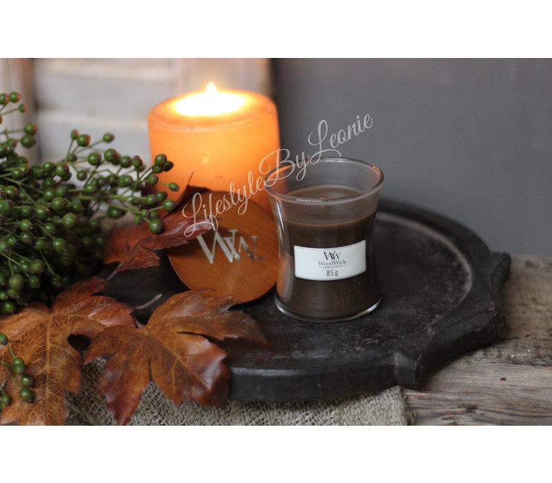 WoodWick Amber & incense mini