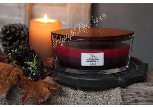 WoodWick WoodWick Sun ripened berries trilogie hearthwick flame