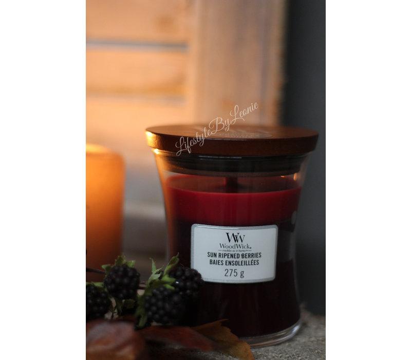 WoodWick Sun ripened berries trilogie medium
