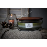 WoodWick Mountain trail trilogie hearthwick flame