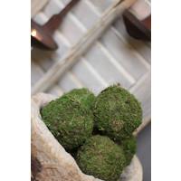 Groene mosbal 8 cm