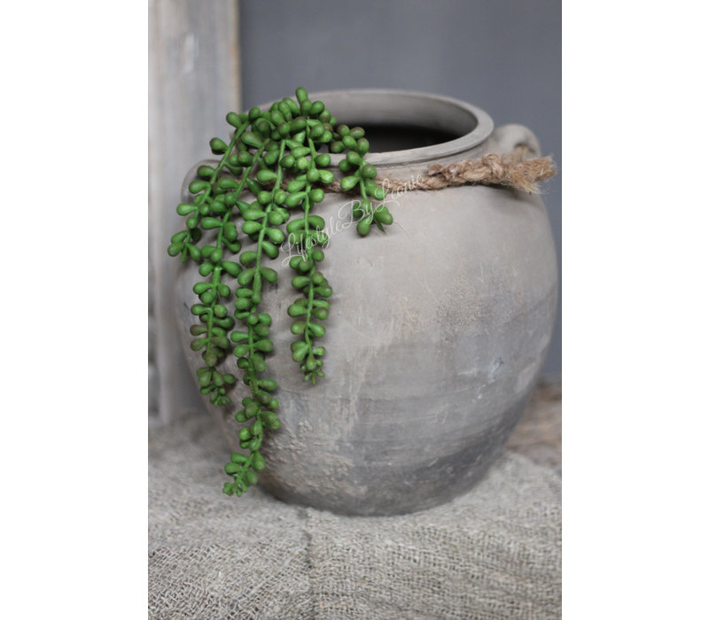 Authentieke Chinese kruik met touw - maat M