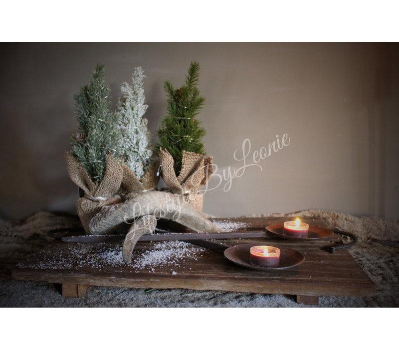 Kerstboom Snow white 28 cm