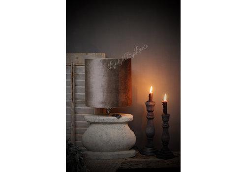 Brynxz brynxz ovale stenen lampvoet Dusty 30cm