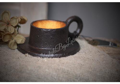 Brynxz Brynxz smeedijzeren cup kandelaar