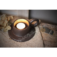 Brynxz smeedijzeren cup kandelaar