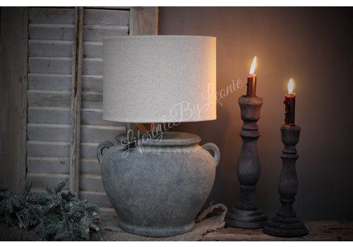 Brynxz Brynxz stenen kruik lamp met 2 oren 26cm