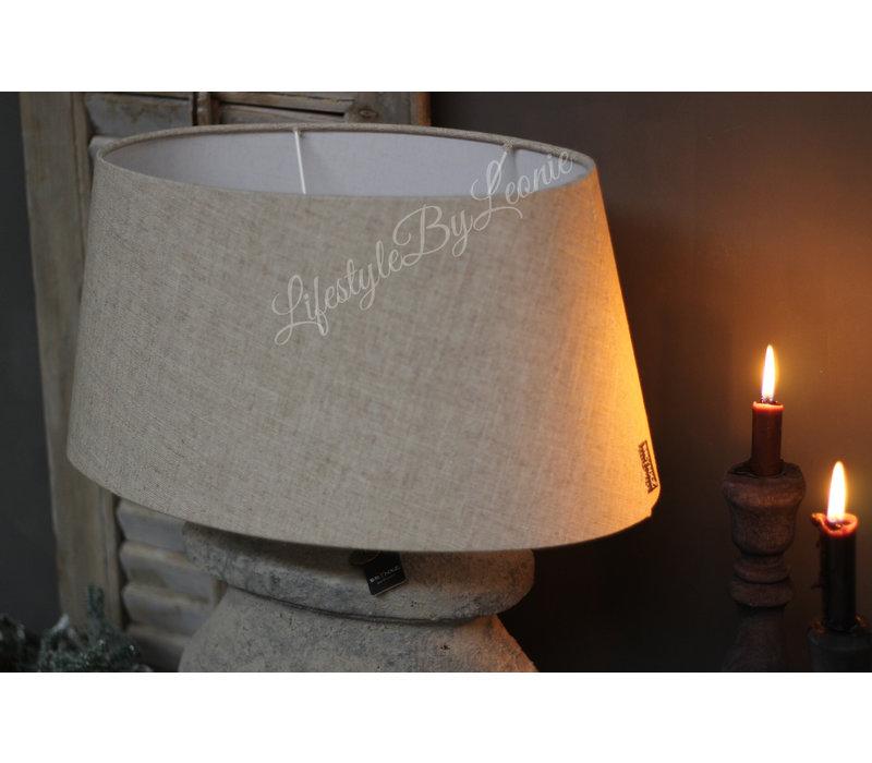 Brynxz grote ovale lampenkap Linnen 45 cm