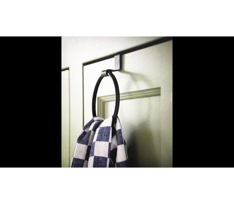 Brynxz smeedijzeren handdoek ring 14 cm