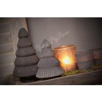 Sober glazen kerstboompje - maat M