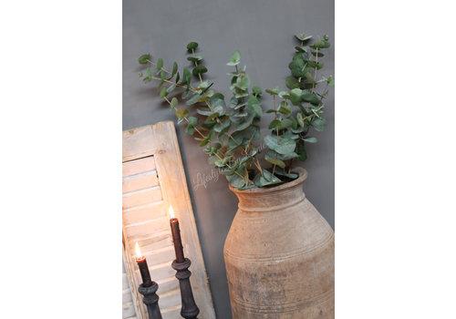 LifestyleByLeonie Zijden Eucalyptus bosje grey/green 90 cm