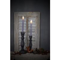 LED dinerkaars Old grey 25 cm