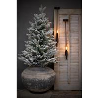 Pinetree kerstboom Snow white 90 cm