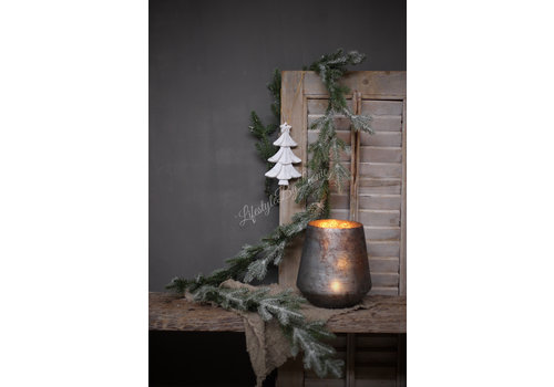 LifestyleByLeonie Houten kerstboom hanger / ornament