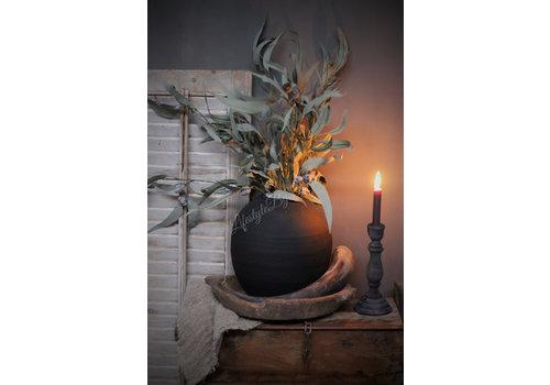 LifestyleByLeonie Zijden eucalyptus met vruchten tak 100 cm